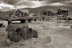 Bodie Ghost Town by Ray Soemarsono