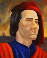 The 'Italian Christopher Columbus' painted by Tim Eger