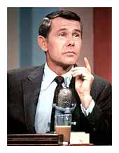 Johnny Carson returning to television.